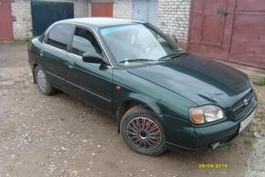 Автомобиль Suzuki Baleno, среднее состояние, 1998 года выпуска, цена 85 000 руб., Ярославль