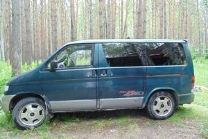 Автомобиль Mazda Bongo Friendee, среднее состояние, 1995 года выпуска, цена 205 000 руб., Новосибирск