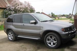 Подержанный автомобиль BMW X5, хорошее состояние, 2004 года выпуска, цена 800 000 руб., Касли