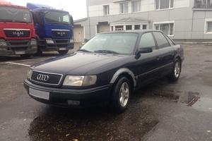 Подержанный автомобиль Audi 100, среднее состояние, 1993 года выпуска, цена 120 000 руб., Москва
