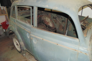 Автомобиль Москвич 401, плохое состояние, 1953 года выпуска, цена 30 000 руб., Москва