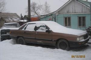 Подержанный автомобиль Audi 200, среднее состояние, 1984 года выпуска, цена 50 000 руб., Челябинск
