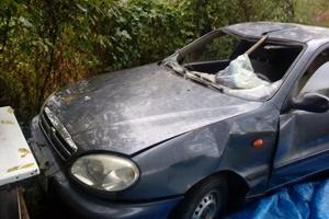 Автомобиль Daewoo Sens, битый состояние, 2007 года выпуска, цена 50 000 руб., Краснодар