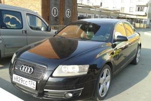 Подержанный автомобиль Audi A6, хорошее состояние, 2005 года выпуска, цена 520 000 руб., Челябинск