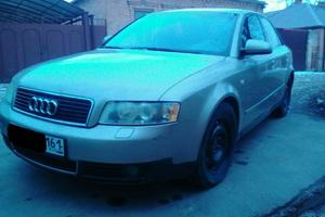 Подержанный автомобиль Audi A4, хорошее состояние, 2002 года выпуска, цена 330 000 руб., Ростов-на-Дону