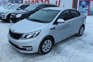 Подержанный автомобиль Kia Rio, отличное состояние, 2016 года выпуска, цена 700 000 руб., Казань