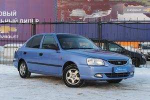 Авто Hyundai Accent, 2005 года выпуска, цена 184 000 руб., Челябинск
