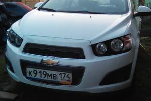 Подержанный автомобиль Chevrolet Aveo, отличное состояние, 2013 года выпуска, цена 500 000 руб., Челябинск