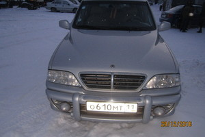 Автомобиль SsangYong Musso, хорошее состояние, 2006 года выпуска, цена 480 000 руб., Инта