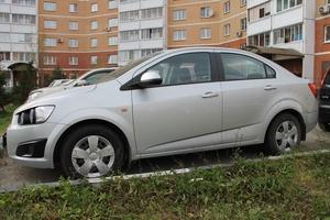 Подержанный автомобиль Chevrolet Aveo, хорошее состояние, 2014 года выпуска, цена 500 000 руб., Подольск