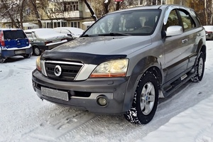 Подержанный автомобиль Kia Sorento, отличное состояние, 2004 года выпуска, цена 450 000 руб., Челябинск