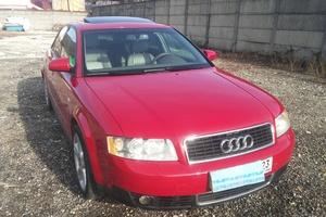 Подержанный автомобиль Audi A4, хорошее состояние, 2002 года выпуска, цена 390 000 руб., Сочи