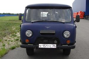 Автомобиль УАЗ 39625, среднее состояние, 2003 года выпуска, цена 100 000 руб., Воронеж