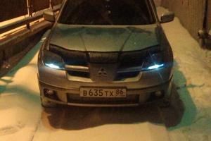 Подержанный автомобиль Mitsubishi Outlander, хорошее состояние, 2004 года выпуска, цена 420 000 руб., Нижневартовск