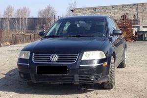 Автомобиль Volkswagen Passat, хорошее состояние, 2001 года выпуска, цена 320 000 руб., Челябинск
