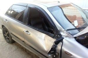 Автомобиль Fiat Marea, битый состояние, 1997 года выпуска, цена 30 000 руб., Воронеж