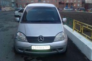 Автомобиль Mercedes-Benz Vaneo, хорошее состояние, 2002 года выпуска, цена 330 000 руб., Норильск