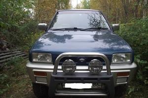 Автомобиль Nissan Mistral, среднее состояние, 1995 года выпуска, цена 320 000 руб., Нижневартовск