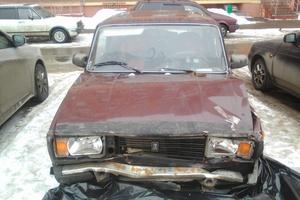 Подержанный автомобиль ВАЗ (Lada) 2105, битый состояние, 2008 года выпуска, цена 30 000 руб., Щелково