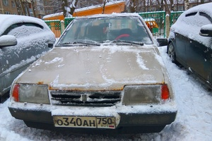 Подержанный автомобиль ВАЗ (Lada) 2109, среднее состояние, 1997 года выпуска, цена 39 000 руб., Подольск