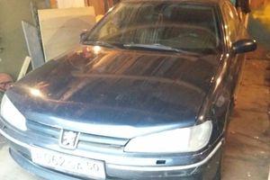 Автомобиль Peugeot 406, среднее состояние, 1998 года выпуска, цена 75 000 руб., Москва