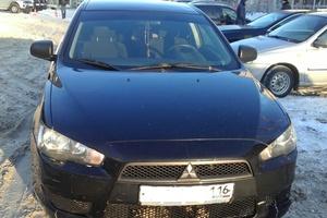 Автомобиль Mitsubishi Lancer, среднее состояние, 2010 года выпуска, цена 330 000 руб., Казань