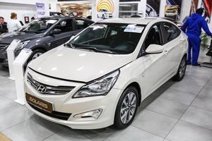 Авто Hyundai Solaris, 2016 года выпуска, цена 937 400 руб., Москва