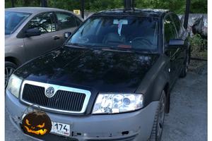 Подержанный автомобиль Skoda Superb, среднее состояние, 2005 года выпуска, цена 170 000 руб., Челябинск