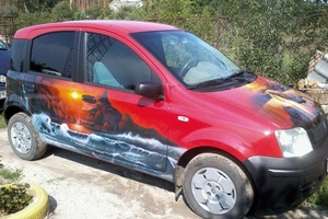 Автомобиль Fiat Panda, отличное состояние, 2005 года выпуска, цена 130 000 руб., Воронеж