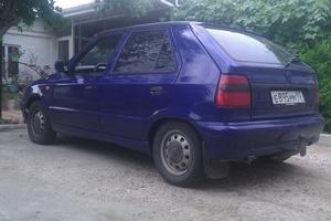 Автомобиль Skoda Felicia, хорошее состояние, 1996 года выпуска, цена 95 000 руб., Усть-Лабинск