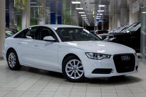 Подержанный автомобиль Audi A6, отличное состояние, 2012 года выпуска, цена 955 000 руб., Москва
