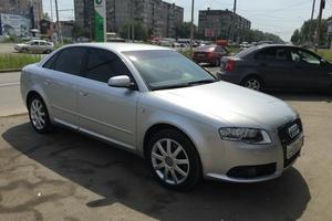 Подержанный автомобиль Audi A4, отличное состояние, 2007 года выпуска, цена 550 000 руб., Челябинск