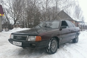 Автомобиль Audi 100, хорошее состояние, 1989 года выпуска, цена 70 000 руб., Москва