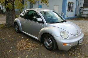 Автомобиль Volkswagen New Beetle, среднее состояние, 1999 года выпуска, цена 350 000 руб., Краснодар