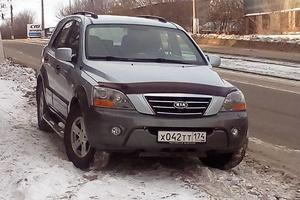 Подержанный автомобиль Kia Sorento, хорошее состояние, 2006 года выпуска, цена 485 000 руб., Магнитогорск