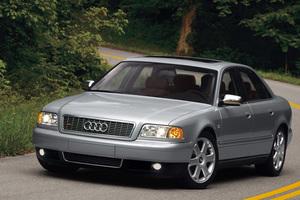 Подержанный автомобиль Audi S8, хорошее состояние, 2000 года выпуска, цена 398 000 руб., Ногинск