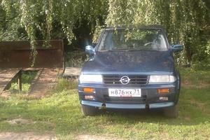 Автомобиль SsangYong Musso, хорошее состояние, 1997 года выпуска, цена 180 000 руб., Тула