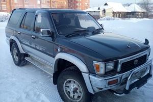 Автомобиль Toyota Hilux Surf, среднее состояние, 1991 года выпуска, цена 260 000 руб., Екатеринбург