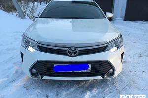 Подержанный автомобиль Toyota Camry, отличное состояние, 2015 года выпуска, цена 1 699 000 руб., Челябинск