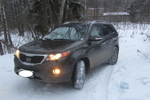 Подержанный автомобиль Kia Sorento, хорошее состояние, 2012 года выпуска, цена 930 000 руб., Орехово-Зуево