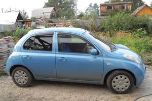 Автомобиль Nissan March, хорошее состояние, 2002 года выпуска, цена 190 000 руб., Тюмень