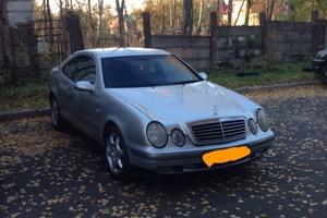 Автомобиль Mercedes-Benz CLK-Класс, хорошее состояние, 1999 года выпуска, цена 350 000 руб., Санкт-Петербург