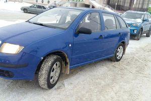 Подержанный автомобиль Skoda Fabia, отличное состояние, 2007 года выпуска, цена 210 000 руб., Нижневартовск