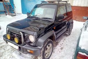 Автомобиль Mitsubishi Pajero Junior, среднее состояние, 1997 года выпуска, цена 185 000 руб., Казань