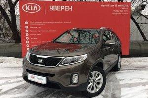 Подержанный автомобиль Kia Sorento, отличное состояние, 2016 года выпуска, цена 1 850 000 руб., Московская область