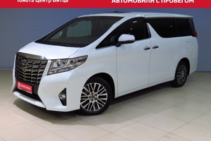 Авто Toyota Alphard, 2016 года выпуска, цена 3 900 000 руб., Москва