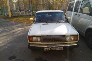 Подержанный автомобиль ВАЗ (Lada) 2107, хорошее состояние, 2007 года выпуска, цена 60 000 руб., Лангепас