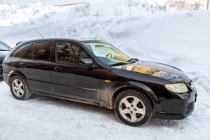 Автомобиль Mazda 323, хорошее состояние, 2000 года выпуска, цена 180 000 руб., Уфа