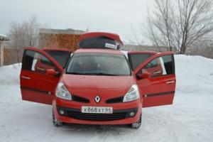Автомобиль Renault Clio, отличное состояние, 2008 года выпуска, цена 320 000 руб., Саратов