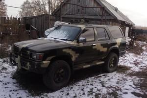 Автомобиль Toyota Hilux Surf, плохое состояние, 1992 года выпуска, цена 200 000 руб., Новосибирск